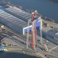 Erection of Goliath crane is completed (Photo: Bilfinger Mars Offshore)