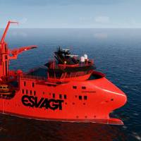 ESVAGT to provide two Service Operation Vessels, in the new 831L design for MHI Vestas. Photo: ESVAGT