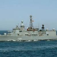 EU NAVFOR warship Bremen. Photo courtesy EU NAVFOR.