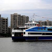 Fast ferry for Rio Olympics: Photo courtesy of Cat Marine