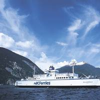 Ferry: Image courtesy of BC Ferries
