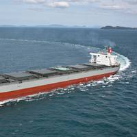 File Image: A bulk carrier underway (CREDIT: K Line)