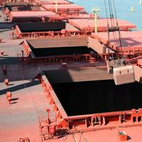 File Image: A bulk vessel unloading in port (CREDIT: Lidian Neeleman AdobeStock)