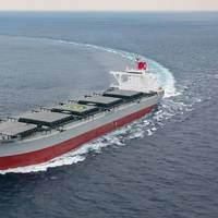File Image: a K Line coal Carrier (CREDIT: K Line)