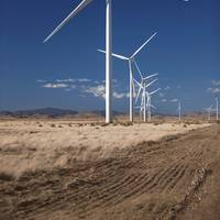 file Image: A typical Vestas Wind turbine installation. CREDIT: Vestas