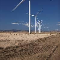 file Image: A typical Vestas Wind turbine installation. CREDIT: Vestas
