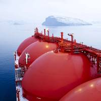 File Image: an LNG tanker underway (Credit: GAC)