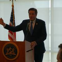 File Image: Congressman John Garamendi at a recent speech at the California Maritime Academy.