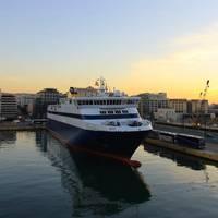 File Image: Ferries in passenger port in Piraeus, Athens, Greece. CREDIT: AdobeStock / (c) AnastasiiaUsoltceva