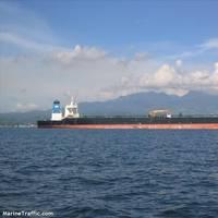 File Image: the former M/T Grace 1 at sea (CREDIT: MarineTraffic.com)