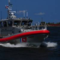 File photo: A Coast Guard Station Grand Isle 45-foot Response Boat - Medium (U.S. Coast Guard photo by Bill Colclough)