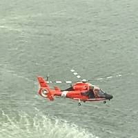 File  photo: An Air Station Corpus Christi MH-65 Dolphin helicopter (Photo: U.S. Coast Guard District 8 PADET Houston)