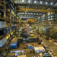 File photo: Astute Class submarines being built at BAE Systems' shipyard in Barrow-in-Furness in 2013 (Photo: UK Royal Navy)