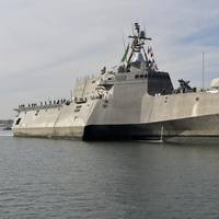 File photo: Littoral Combat Ship USS Coronado (LCS-4) in December 2017 (U.S. Navy Photo by Anthony N. Hilkowski)