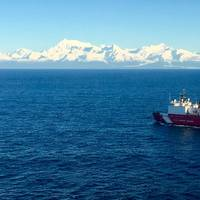 File photo: Polar-class icebreaker Coast Guard Cutter Healy (WAGB-20) (U.S. Coast Guard photo by Kellen Browne)