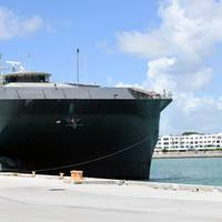 File photo: The first Expeditionary Fast Transport ship, USNS Spearhead (T-EPF 1)( U.S. Navy photo by Jeremy Starr)