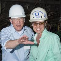 File photo: U.S. Senator Roger Wicker at the Ingalls Shipyard in 2015 (Photo: Andrew Young/HII)