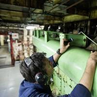 Final Engine Checks: Photo credit OMSI