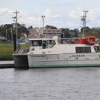 First Harvest Navigation's Captain Ben Moore is the first autonomous hybrid cargo vessel in the U.S. (Photo: First Harvest Navigation)