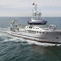 Fishery Research Vessel for Angolan Ministry of Fisheries. Photo Damen