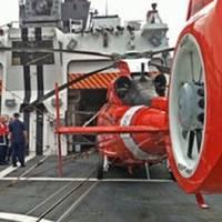 Flight deck 'Berthholf': Photo credit USCG