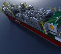 'FLNG Prelude' Photo credit Shell