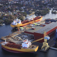 Florø Shipyard: Photo credit STX Europe