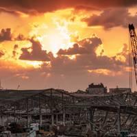 For illustration; Beirut port area after recent explosion - Credit: Anna Om/AdobeStock