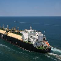 For illustration only - First Chevron Wheatstone LNG cargo from Australia departing for Japan in 2017 (File Photo: Chevron)
