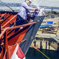Fourth LNG-Ready, Product Tanker Joins the Crowley Fleet Photo Crowley