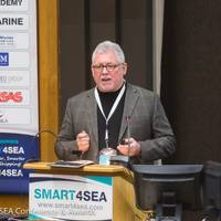 Frank Coles at 2017 SMART4SEA Conference & Awards (Photo: Transas)