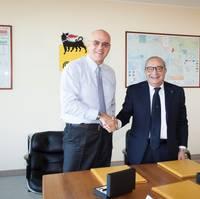 From left: Claudio Descalzi and Giuseppe Bono (Photo: Fincantieri)