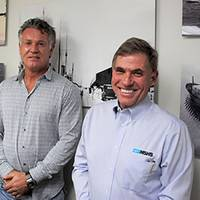 From left: MSHS Vice President and General Manager Rodrigo Quilula; President of TurboUSA Willem Franken and MSHS Group President Are Friesecke, met at the MSHS corporate office in Fort Lauderdale, FL to complete the TurboUSA acquisition..