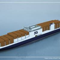 G4 RoRo Containership: Image credit ACL