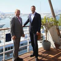 Gary Hubbard, Chief Commercial Officer of Neutral Fuels and Lars Liebig, Managing Director of UED.