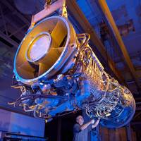Gas Turbine Engine LM2500+G4: Photo credit GE