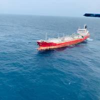 Gas Yodla - Credit: Indian Coast Guard