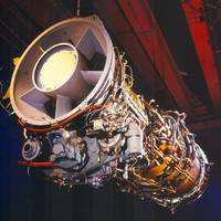 GE LM2500 GT hanging angle shot (Photo: GE Marine)