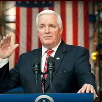 Governor Tom Corbett: Photo courtesy of State Office
