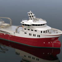 Graphical rendering of the new fishing vessel (picture courtesy NSK)