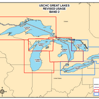 Great Lakes Revised ENC Usage: Image credit NOAA