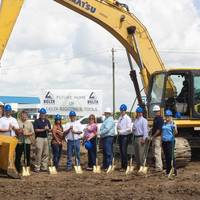 Ground breaking ceremony: Photo credit Delta