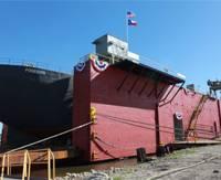 Gulf Copper's new dry dock, Mr. Morris.