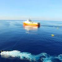 Haiyang Dizhi 8 seismic survey vessel; Image Credit: China Geologic Survey (File Photo)
