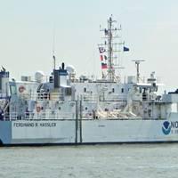 Hassler arrives at homeport: Photo credit NOAA