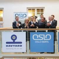 Havyard Group listing: Photo Oslo Børs