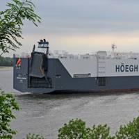 Höegh Autoliners' Vessel: Photo courtesy of Höegh