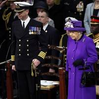 Her Majesty The Queen at the commissioning of HMS Queen Elizabeth (Photo: Royal Navy)
