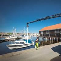 HIAB X-HiPro 232 offers highest efficiency in the 20-tonne-metre range Photo HIAB
