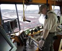 Higman Captain in the Wheelhouse / photo: courtesy of Higman.